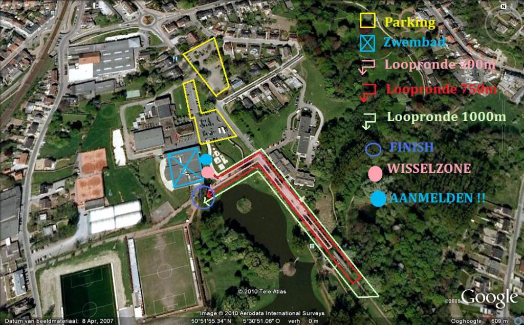 zwemloop Bilzen Loopparcours 2011 - kopie - kopie